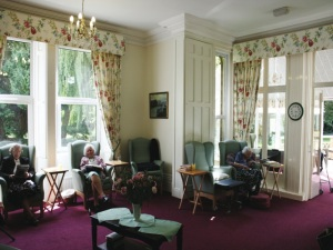 Lounge at Braceborough Hall