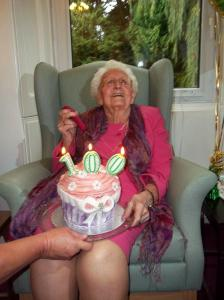 Mrs Watson 100th Birthday